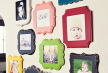 Lovely Photo Displays <3 / {Ideas & inspiration for lovely photo displays.}