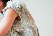 Colored Wedding Dresses <3 / {Ideas & inspirations for lovely colored wedding dresses.}