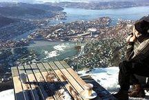 Bergen - Norvégia / Bergen Norvégia második legnagyobb városa.
