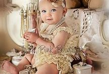 It's a Baby GIrl / Baby girl nursery ideas. Baby girl outfits.
