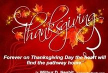 Thanksgiving / by Sue Ruddy