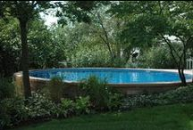 Ultimate Pools / Aboveground, Semi-inground, inground swimming pools built by Fox Pools.