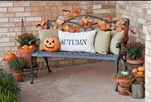Halloween / Thanksgiving / Fall Front Porch / by Stacy Dorn