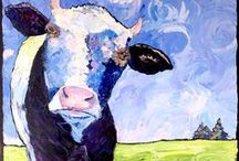 cowscapes / my paintings of cows!  / by carrie jacobson