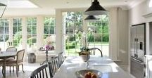 Kitchen Extensions & Kitchen Inspiration / #Kitchenextensions continue to be growing in demand and are a regular design request, whether in an orangery or conservatory.