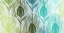 Peacock Feathers / Inspiración para la creación de imagen de marca.