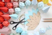 The art of paper crafting / Paper craft ideas. DIY paper crafting ideas.