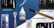 Healthy, Happy Feet / #Pedicure Tools for #grooming your feet.#Body Toolz  has the largest selection of #beauty products specials.