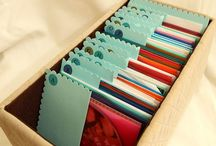 Creative projects + storage / by Kerry W (née M)