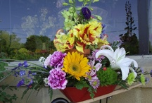 Flowers from Claudia's / Original arrangements designed by the staff at Claudia's Pearl Florist.