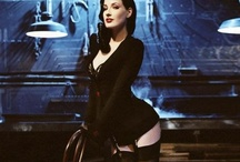 Dita von Teese / A board about Dita von Teese; burlesque dancer, model, costume designer, author and actress. / by Z7M