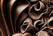 Death By Chocolate. / Chocolate (n.) . [ˈCHäk(ə)lət] . || The best excuse in the world. / by Christine ♥
