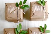 Gift Ideas and Crafts DIY / Fun to make, to buy and to give!