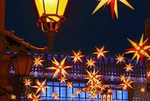 Christmas Markets in Europe / Some European cities have large Christmas Markets in December. The cities light up, people take to the streets, gift items are for sale, there's lots of food, entertainment and excitement, We wanted to share them with you. #holidayboard #ChristmasMarketsinEurope #EuropeanHolidayMarkets