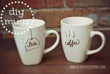 DIY mugs and Co