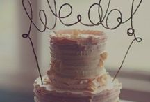 Wedding cakes, canapes, cocktails + menus / Wedding cake designs and toppers / by Kerry W (née M)