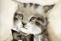 Art Inspired by Cats / by Julee J. Adams