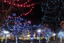 Christmas in Santa Fe / Christmas in Santa Fe is a magical time. The city lights up with farolotos and twinkling fairy lights. There are pageants and holiday traditions galore. Even some traditional foods.