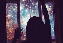 Celestial. / Celestial (adj.) . [səˈlesCHəl] . || Belonging or relating to heaven. / by Christine ♥