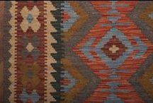 Maimana kilim details / Creative details of tribal kilims