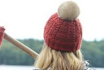 Fall Favorites / Our Favorite Knitting Projects for Fall 2016.