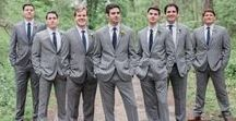 groomsmen / The guys should look and feel sharp on wedding day. | wedding planning, groom, ring bearer, groomsmen, bridal party, suit, tux, boutonniere, cuff links, tie, bow tie, men's fashion, bros, friends, best man, wedding planning, wedding photography, wedding photographers, camera, film, digital, photos, traveling photographer, international traveling photographer, groom portraits, making memories