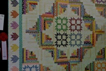 Log Cabin Quilts / by Cheryl Fogg