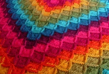 Crochet - Afghans, blankets, and throws / Crochet afghans - some patterns, some just for inspiration.  No baby blankets - see Crochet baby blankets board for those / by Hanne Adelman