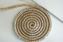 Crochet - Misc. Crafty Crochet / Rag rugs, baskets, luminaries and other untraditional crochet items / by Hanne Adelman