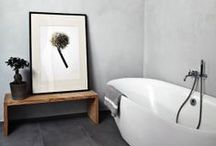 Interiors ❉ Bath / Bathrooms and powder rooms / by Jackie Jordan