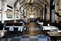 Interiors ❉ Dine ❉ Out / Restaurant Interiors