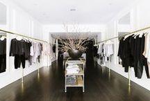 Interiors ❉ Shops / Beautiful retail spaces