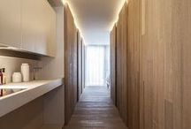 Interiors | Hallways / A well-designed hallway can be a feature in your home, office or restaurant. #hallways #interiordesign