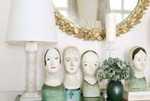 Interiors ❉ Accessorizing / It's the little things that complete the picture