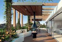 Inspiration | Roof top garden / #rooftops #gardens #design #architecture