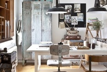 Interiors ❉ Workspace / Home offices and studios / by Jackie Jordan