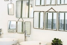 Interiors ❉ Mirror mirror on the wall.... / Lovely ways to decorate with mirrors