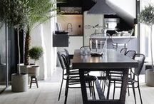 Interiors ❉ Dine ❉ Home / Dining rooms, breakfast nooks / by Jackie Jordan