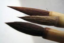 ❉ Paint Brushes / Paint a picture, paint a room, paint a dream