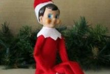 Hailey, our Elf on the Shelf  / Elf on the Shelf, Christmas / by Claudia Clemons
