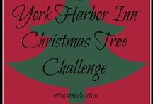 York Harbor Inn Christmas Tree Challenge 2014 / We are starting a new holiday tradition at the YHI! Join us for our first ever Christmas Tree Challenge! #YorkHarborInn