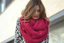 Scarf love / Gorgeous scarves and how to rock them.