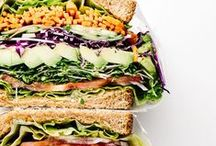 Sandwiches & Salads / Whether it's for lunch or dinner find easy to make, nourishing sandwiches and salads here!