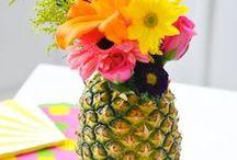 Hawaiian Luau Pool Party