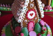 gingerbread house ideas / by Debbie Wood