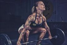 "CROSSFIT INSPIRATION / Crossfit, no ""hampster training"" and no insignificant cardio or body building here! / by Sumira Larsen"