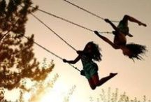 """Just Hanging Around / La Dolce Vita... La Dolce Far' Niente.  Leisure, Lounging, time spent """"doing nothing"""" gives us a chance to ponder, think, wonder, imagine, work things out, and engage in our lives."""