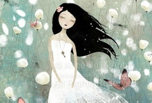 illustration love / lovely illustrations / by Gina Cancellaro