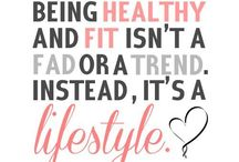 healthy lifestyle / by Erin Madeline