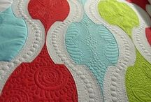 free motion quilting (and other designs) / #freemotionquilting